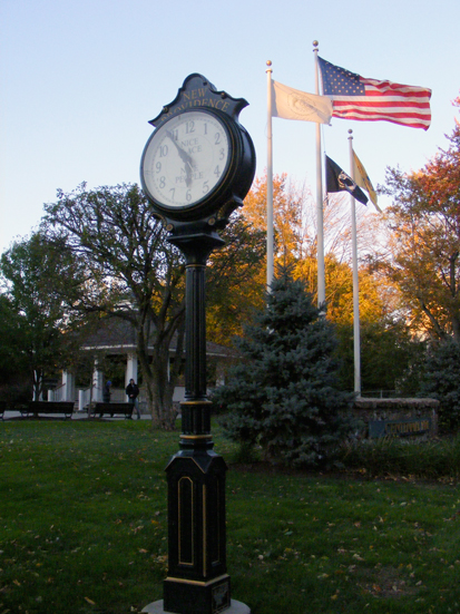 Town square clock 01