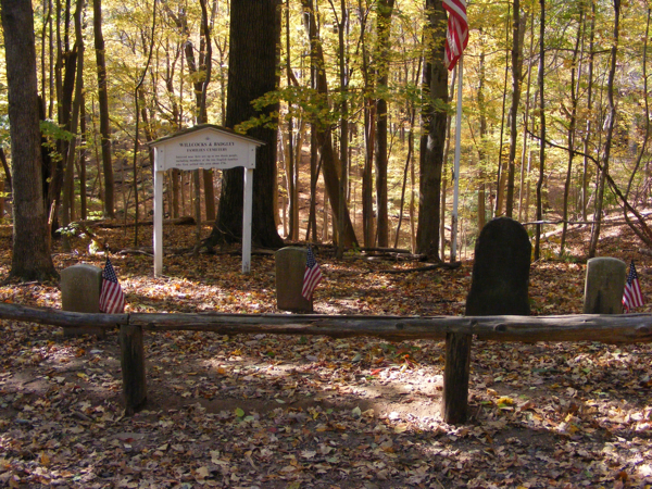 Cemetery for earliest settlers