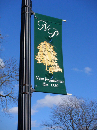 Street banner!