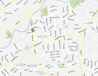 Map of Oakwood Park