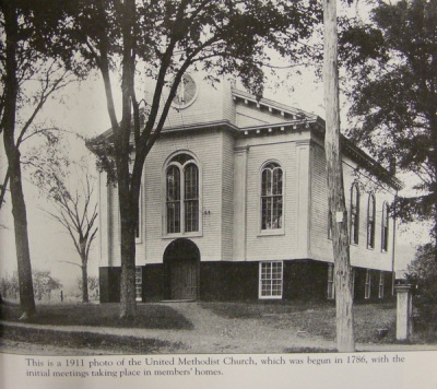 New Providence United Methodist Church, 1911