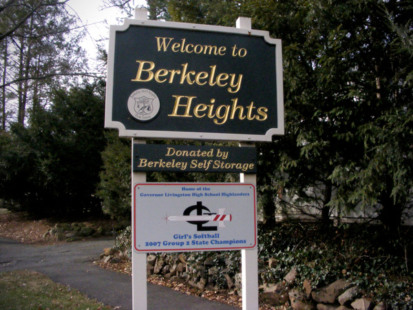 Welcome to Berkeley Heights!