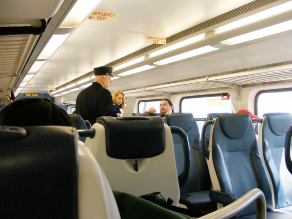 Njtransit Train Interiors New Providence Daily Photo