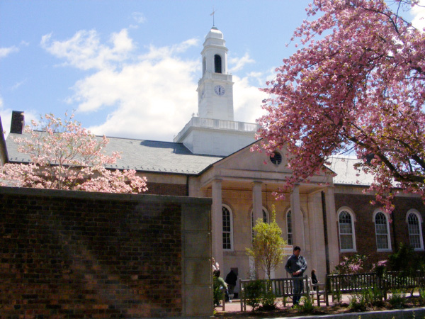 Drew University: Brothers College (and cherry blossoms!)