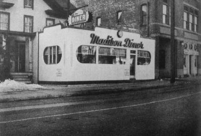 Madison Diner! c. 1950s?