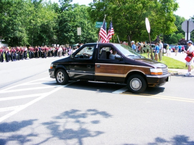 Frankenvan at the New Providence Memorial Day Parade, May 2012