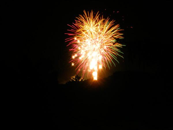 Yay fireworks!