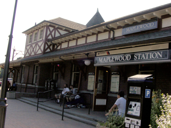 Maplewood train station!