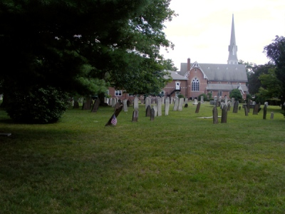 Scotch Plains Baptist Church: Cemetery (God's Little Acre)
