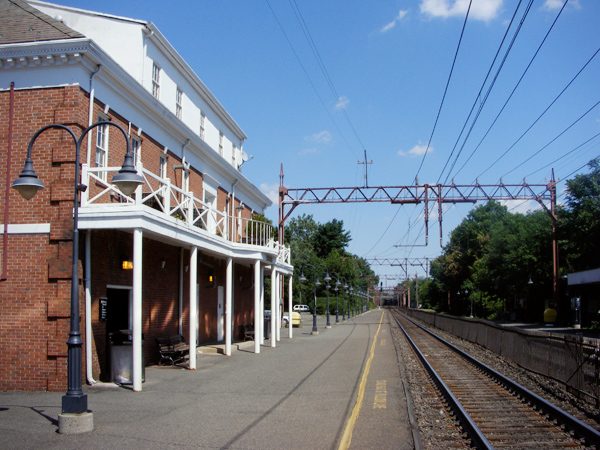 Millburn train station