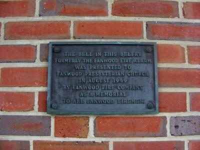 A plaque!