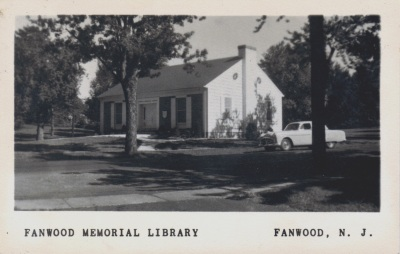 Fanwood Memorial Library, 1951