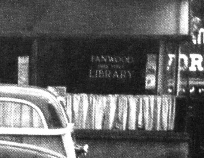 Fanwood Library, c. 1940: Seriously, there was a library here.