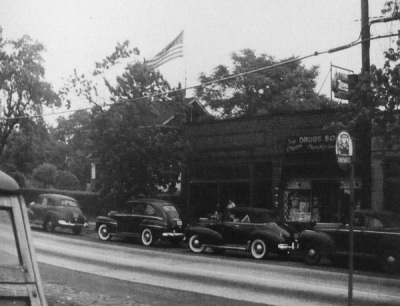 Fanwood post office, c. 1940