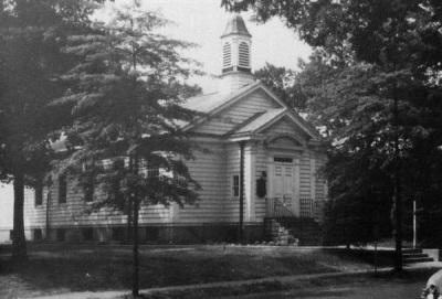Fanwood Presbyterian, c. 1940?