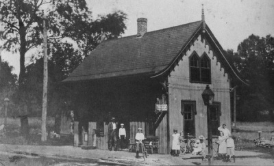 Maplewood station, 1860-1902