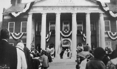Maplewood Municipal Building, opening ceremony, 1931