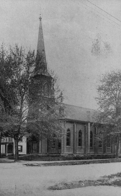 MIllburn First Baptist, date unknown