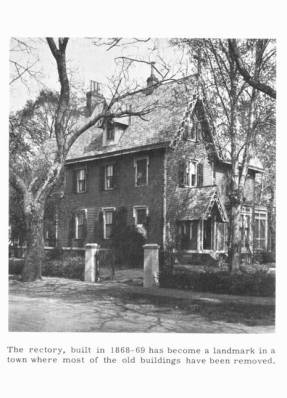 St. Stephen's Rectory, date unknown (1960s?)