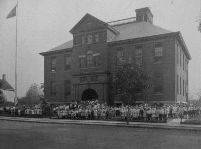 Washington School, c. 1900