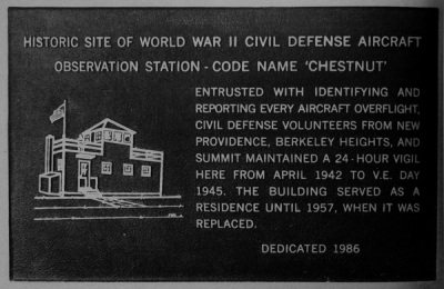 New Providence Observation Station!