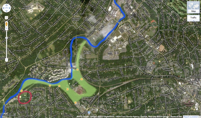 Passaic River Park: Updated for hike-able portions
