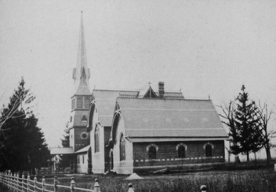 Scotch Plains Baptist Church, c. 1900?