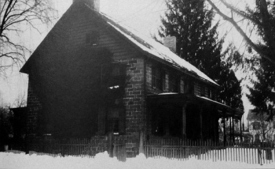 Scotch Plains Baptist Parsonage, date unknown. Not recent.