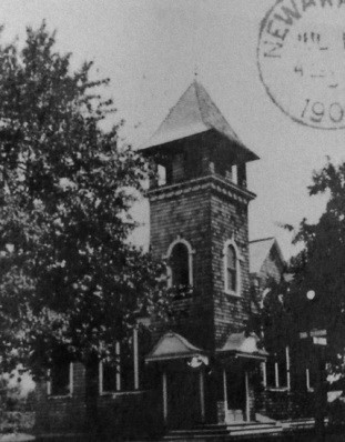 The wooden Sunday School, c. 1903