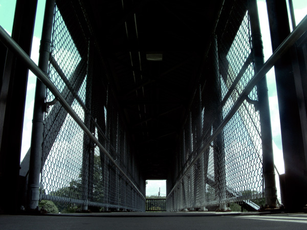 Fanwood pedestrian bridge