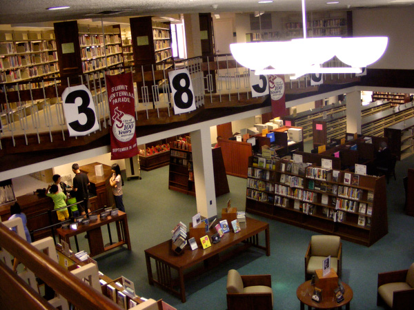 Summit Library, inside