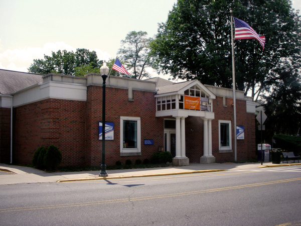 The Scotch Plains Post Office. Very exciting.