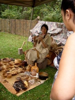 """""""Lenape"""" woman"""