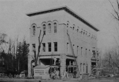 Roots Building, c.1893, in progress