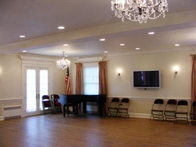 Dance floor, maybe? Formal dining room? I dunno.