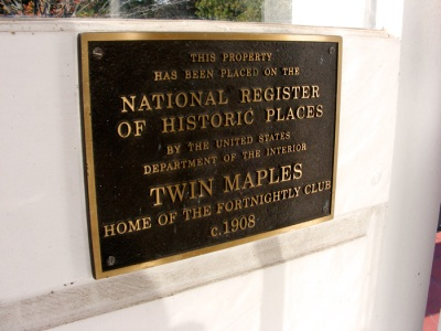 It has been placed on the National Register of Historic Places!