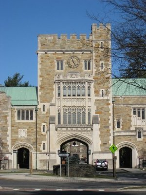 Vassar's Main Gate
