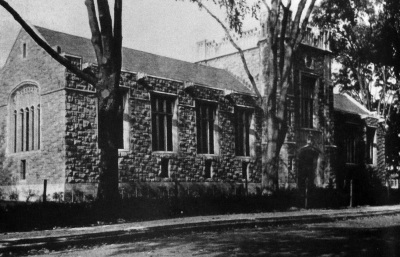 Morristown Library, 1918