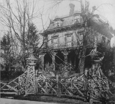 Thomas Nast's House, c.1880