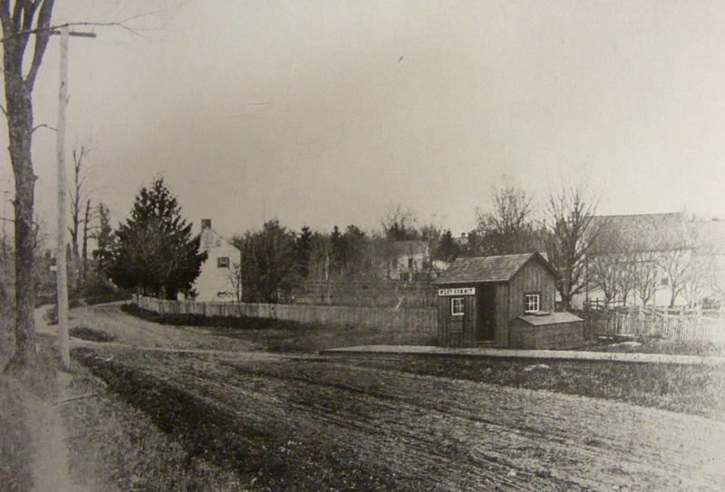 West Summit Station, 1888