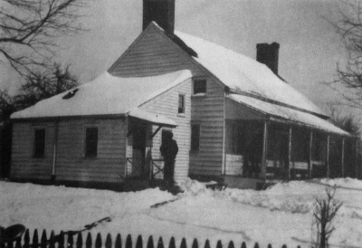 Carter House, sometime in the 1800s.