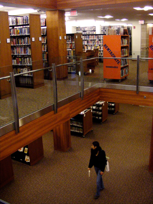 Inside the Morristown Library