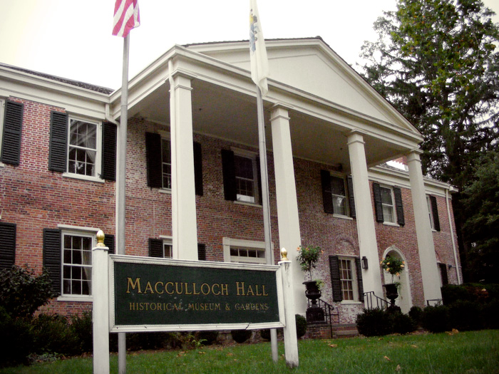 Macculloch Hall in Morristown!