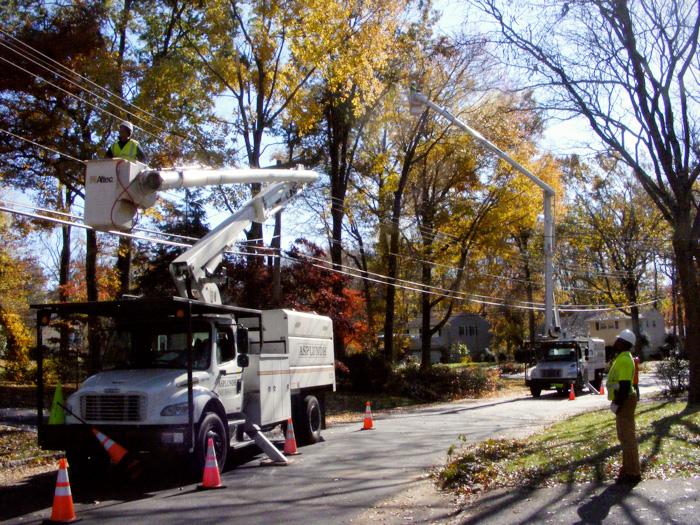 Asplundh tree removal!
