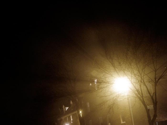 On a foggy night...