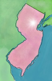 Look! It's a map of the New Providence area in New Jersey!