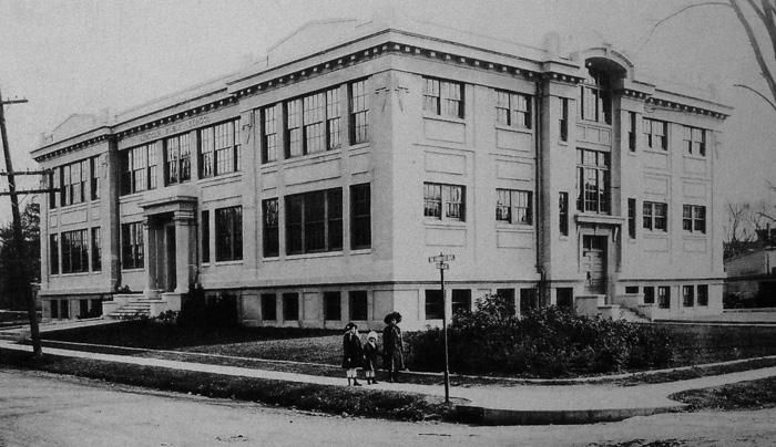Original Lincoln School, early 20th century