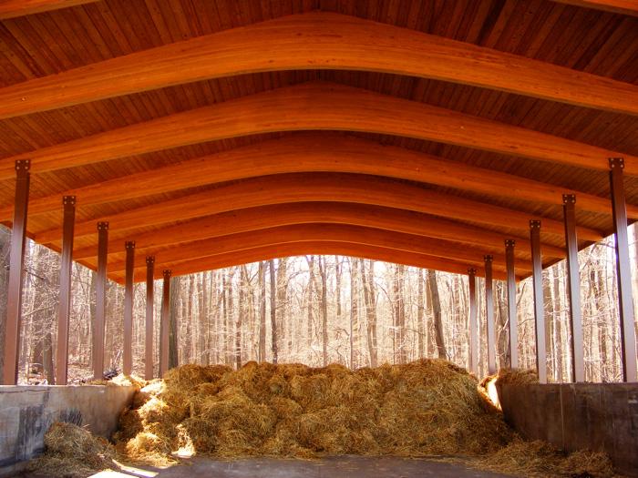 A chapel of hay!