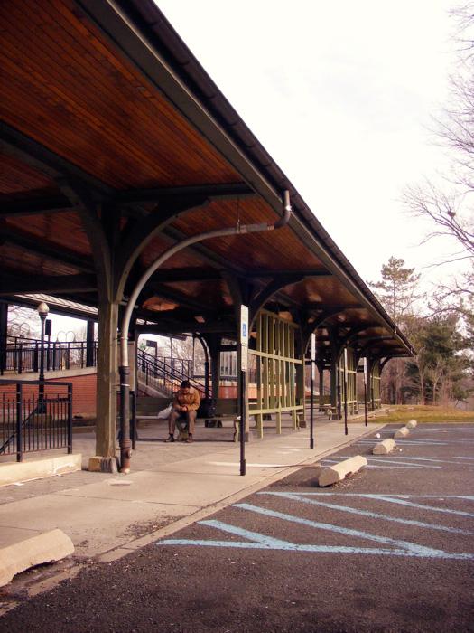 Plainfield train station, yo.