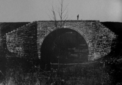 Chatham-Summit railroad bridge, c. 1900